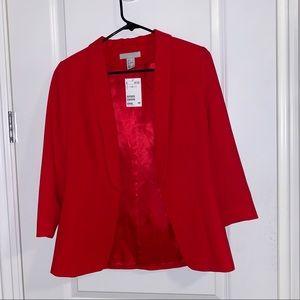 Red blazer from H&M